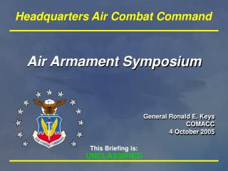 Air Armament Symposium