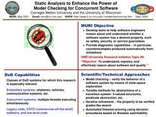 MURI Objective