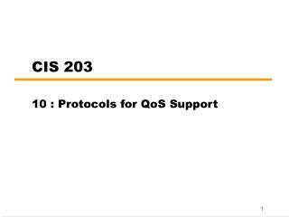 CIS 203