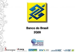 Banco do Brasil 2Q09