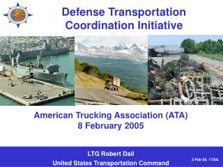 Defense Transportation Coordination Initiative