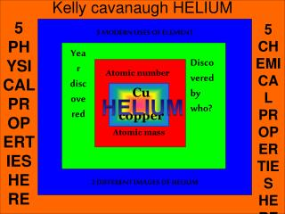 Kelly cavanaugh HELIUM