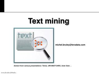 Text m ining