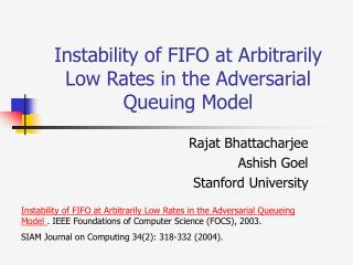 Instability of FIFO at Arbitrarily Low Rates in the Adversarial Queuing Model