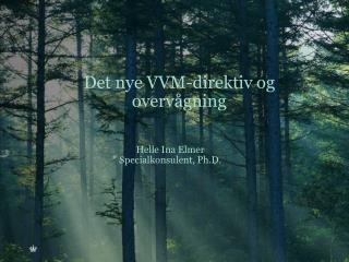 Det nye VVM-direktiv og overvågning