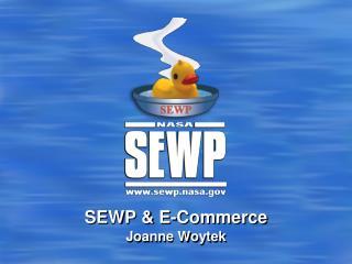 SEWP & E-Commerce Joanne  Woytek