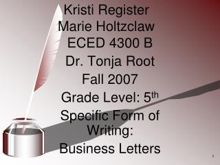 Kristi Register  Marie Holtzclaw