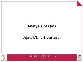 Analysis of QoS