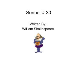 Sonnet # 30