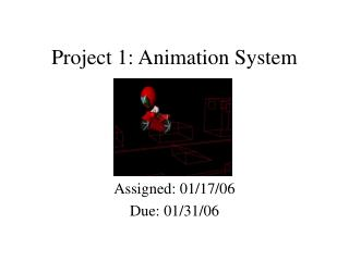 Project 1: Animation System