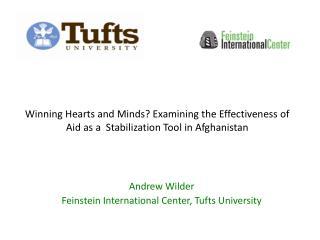 Andrew Wilder Feinstein International Center, Tufts University