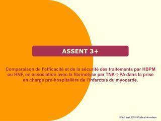 ASSENT 3+