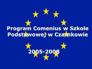 Program Comenius w Szkole Podstawowej w Czarnkowie