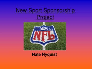 New Sport Sponsorship Project