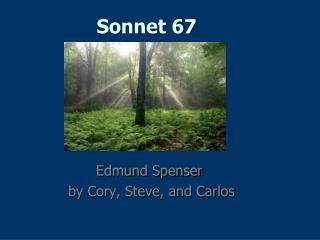 Sonnet 67