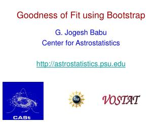 Goodness of Fit using Bootstrap
