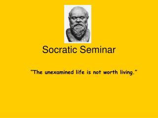 Socratic Seminar