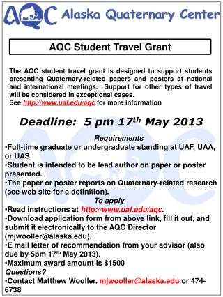 Deadline:  5 pm 17 th  May 2013
