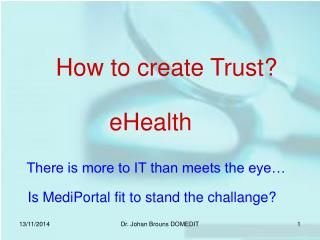 How to create Trust?