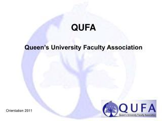 QUFA Queen's University Faculty Association