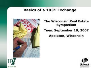 Basics of a 1031 Exchange