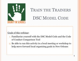 Train the Trainers DSC Model Code