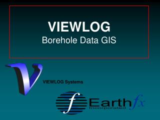 VIEWLOG Borehole Data GIS