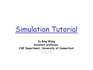 Simulation Tutorial