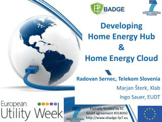 Developing Home  Energy Hub  &  Home  Energy Cloud