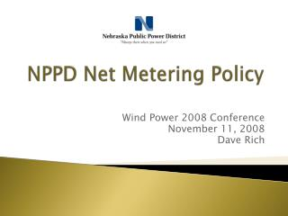 NPPD Net Metering Policy