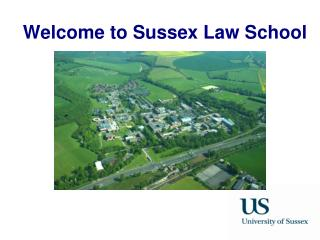Welcome to Sussex Law School