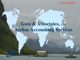 Goss & Associates,  LLC Airline Accounting Services