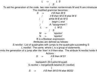Date : 9/11/06 By:    NEERAJ  KUMAR (04CS3014)  Three Address Code Generation – Backpatching