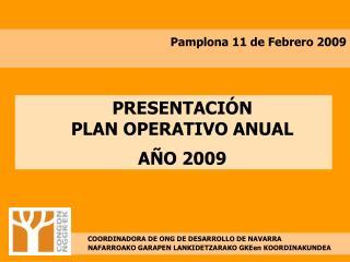 Pamplona 11 de Febrero 2009
