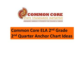 Common Core ELA 2 nd  Grade 2 nd  Quarter Anchor Chart Ideas