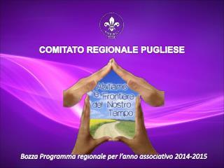 Bozza Programma regionale per l'anno associativo 2014-2015
