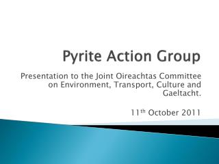 Pyrite Action Group