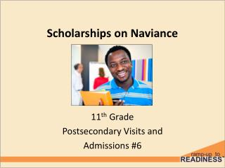 Scholarships on Naviance