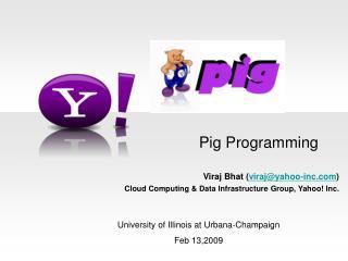Pig Programming