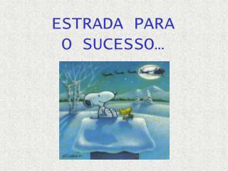 ESTRADA PARA O SUCESSO