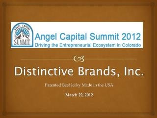 Distinctive Brands, Inc.