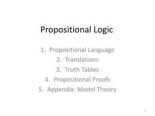 Propositional Logic