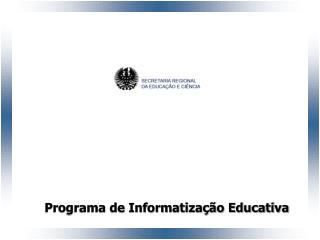 DIRECÇÃO REGIONAL DA CIÊNCIA E TECNOLOGIA