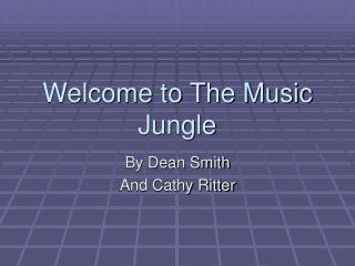 Welcome to The Music Jungle