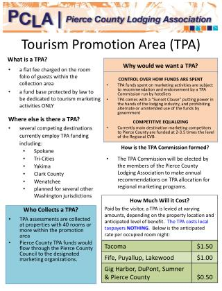 Tourism Promotion Area (TPA)