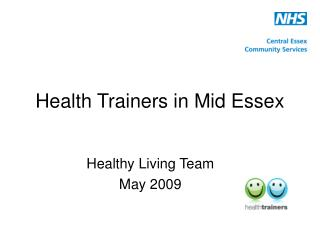 Health Trainers in Mid Essex