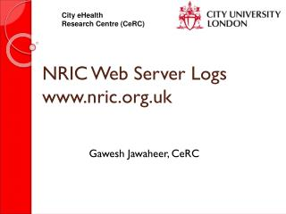NRIC Web Server Logs nric.uk