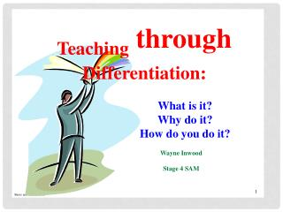 What do you already  know  about differentiation?