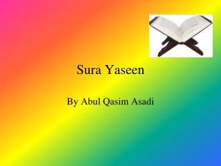 Sura Yaseen