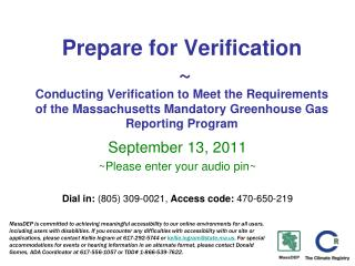 September 13, 2011 ~Please enter your audio pin~
